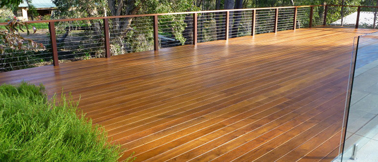 Merbau Decking in Perth