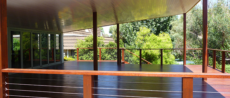 Outdoor Decking in Perth