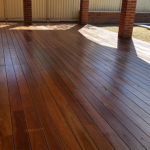 Spotted Gum Decking in Perth