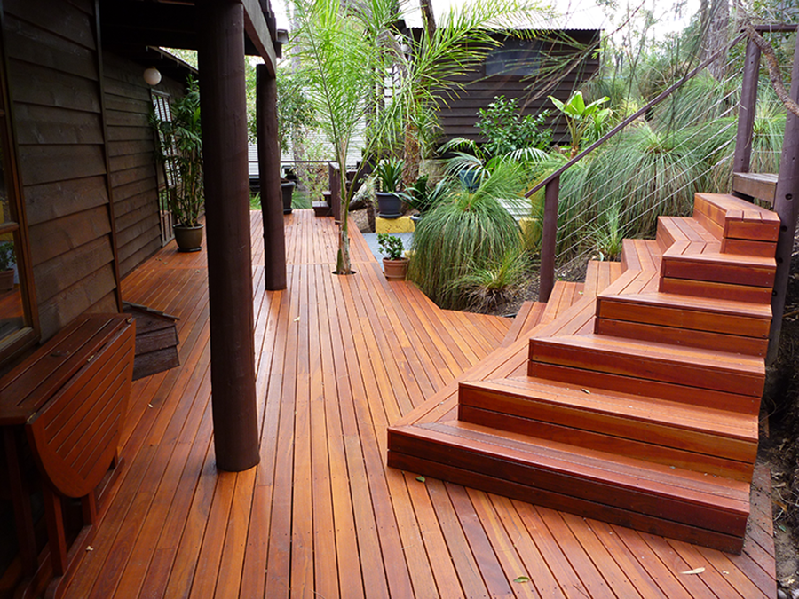Timber Stairs Amp Deck Steps External Wa Timber Decking