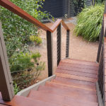 Custom Merbau Steps