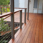 Elevated Merbau Deck