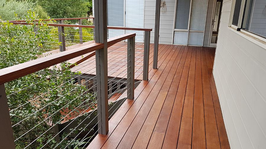Elevated Merbau Deck