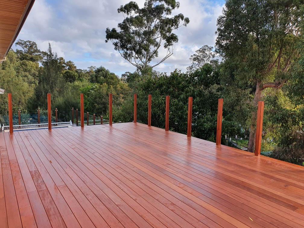 Merbau Pool Deck