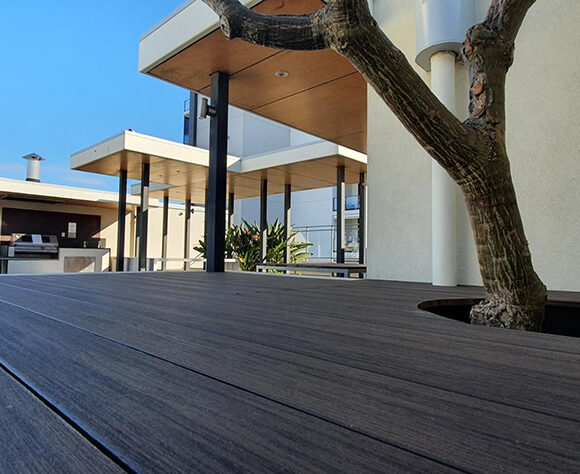 Aspect Apartment Decking