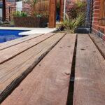 Poolside Ironbark Deck