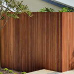 Spotted Gum Fence & Gate