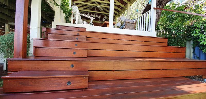 Merbau Timber Steps
