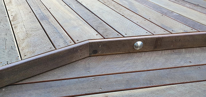 Parkdeck Ironbark Combo Stairs & Deck
