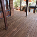 Wire Brushed Decking
